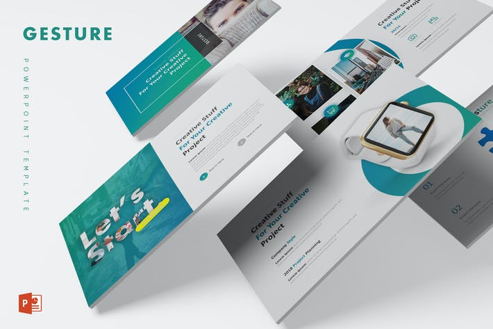 Gesture - Powerpoint Template