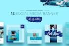 Blue Sky Social Media Designs