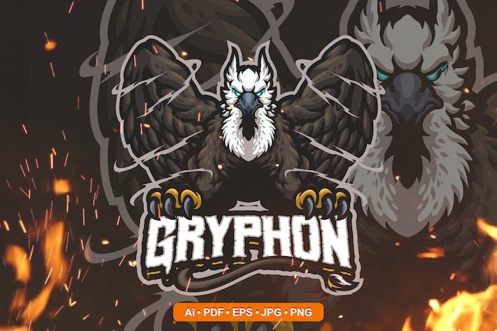Gryphon Esports and Sports mascot Logo
