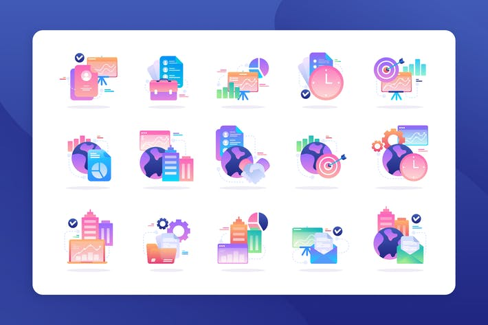 Thumbnail for Business - Icon Illustration