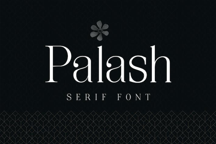 Thumbnail for Palash - Serif Font