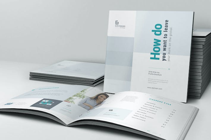 Cover Image For Business Brochure