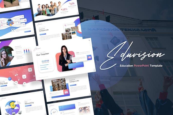 Thumbnail for Eduvision - Шаблон Powerpoint для образования