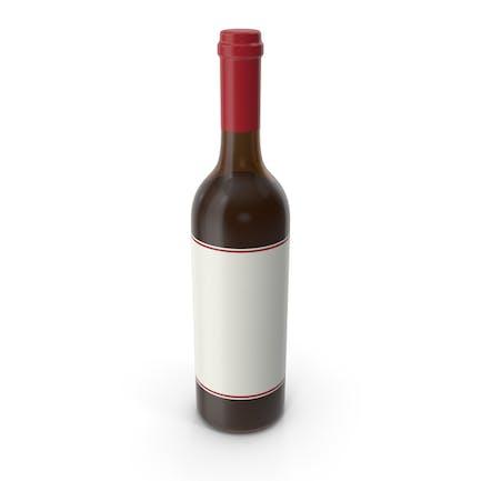 Бутылка вина Красный Белый