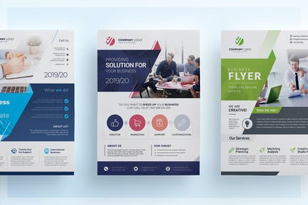 3 Corporate Flyers Pack