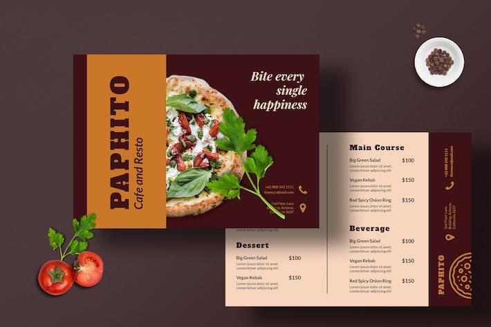 Thumbnail for Restaurant Menu Template