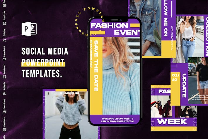 Cover Image For Social Media PowerPoint Template