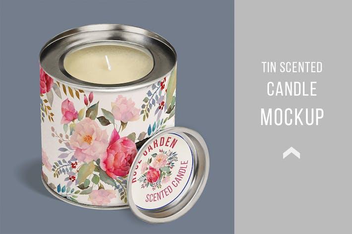 Candle Tin Mock Up