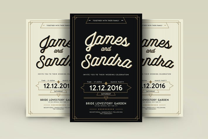 450 Popular Layered Wedding Invitations Print Templates Compatible