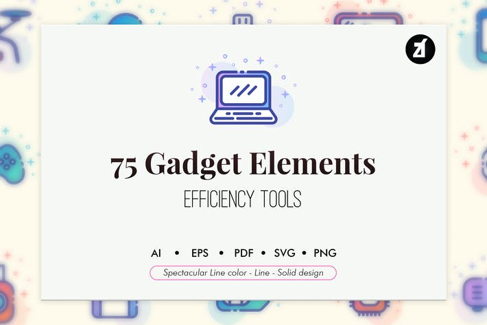 Thumbnail for 75 Gadget elements