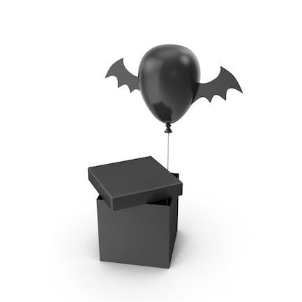 Halloween Balloon Gift Box