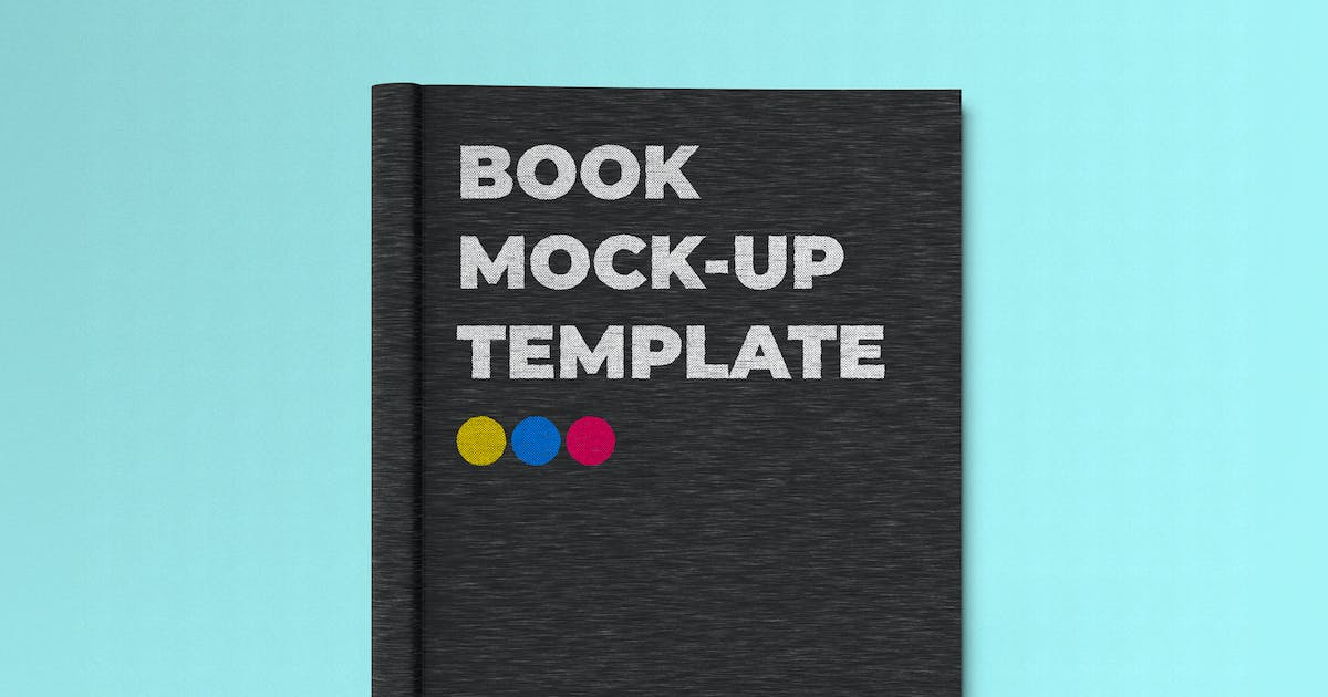 Download A5 Book Cover Mock-up Template by EightonesixStudios