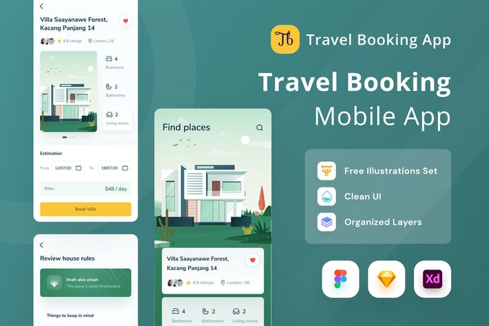 Thumbnail for Travel Booking Mobile App