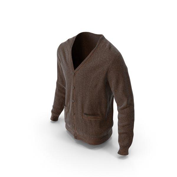 Mens Sweater Brown