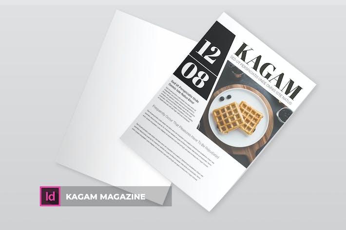 Thumbnail for Kagam | Magazine Template