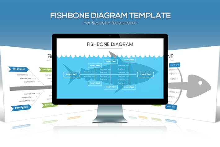 Thumbnail for Fishbone Diagram Keynote Template