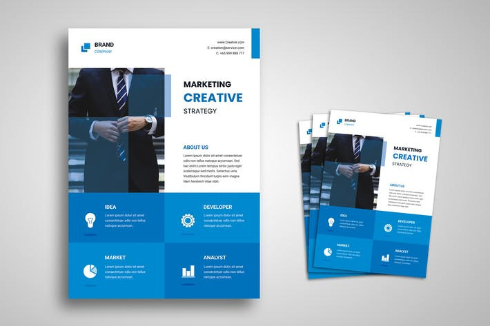 Thumbnail for Business and Marketing Flyer Promo Template