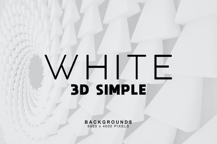 Thumbnail for Simple 3D White Backgrounds 2