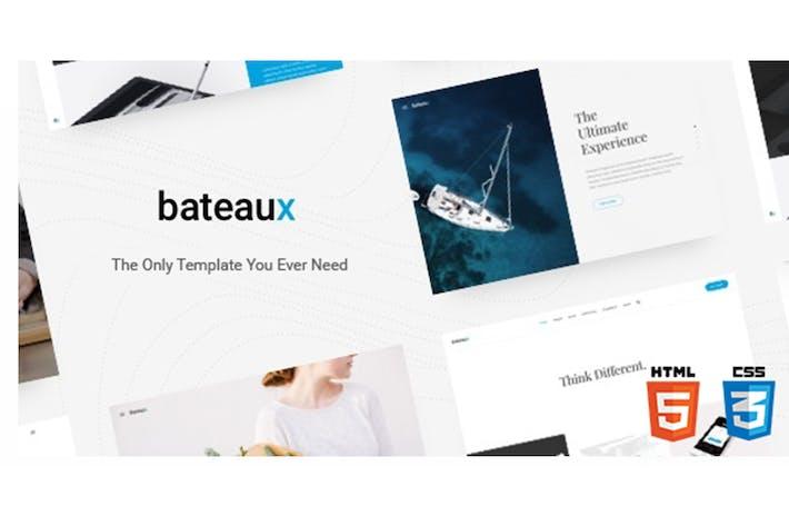 Thumbnail for Bateaux - Creative Multi-Purpose HTML Theme