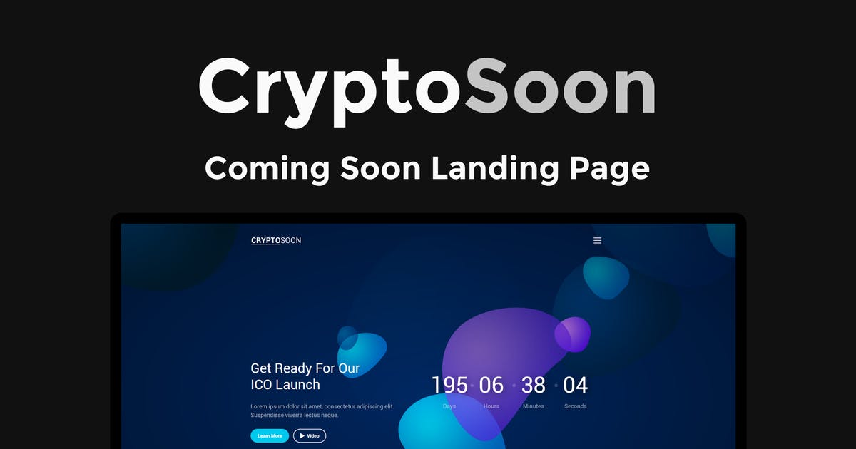 Download CryptoSoon - Coming Soon Template by ThemeStarz