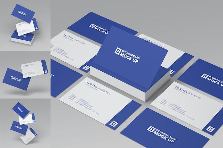 Business Card Mockup VOL 3