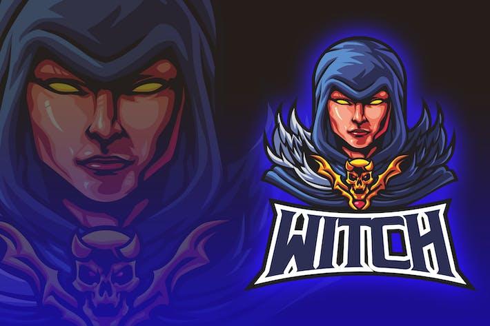 Thumbnail for Blue Hoody Wizard Esport Logo