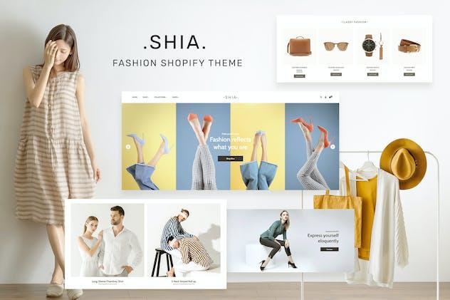 Shia - Modern, Simple Shopify Theme
