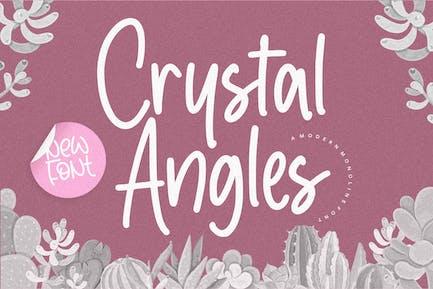 Crystal Angles Font YH
