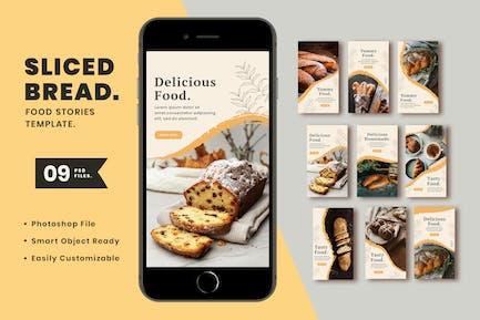 Sliced bread Instagram Template