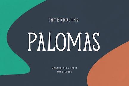 Palomas Casual Serif Font
