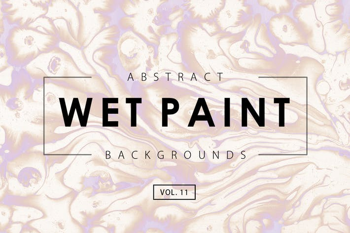 Thumbnail for Wet Paint Backgrounds Vol. 11