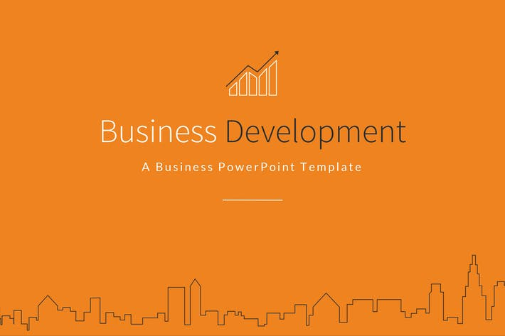 Business development powerpoint template by jafardesigns on envato cover image for business development powerpoint template flashek Choice Image