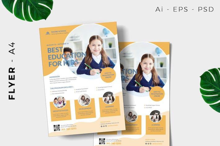 Thumbnail for Vorlage für BildungsFlyer