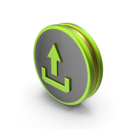 Green Upload Icon