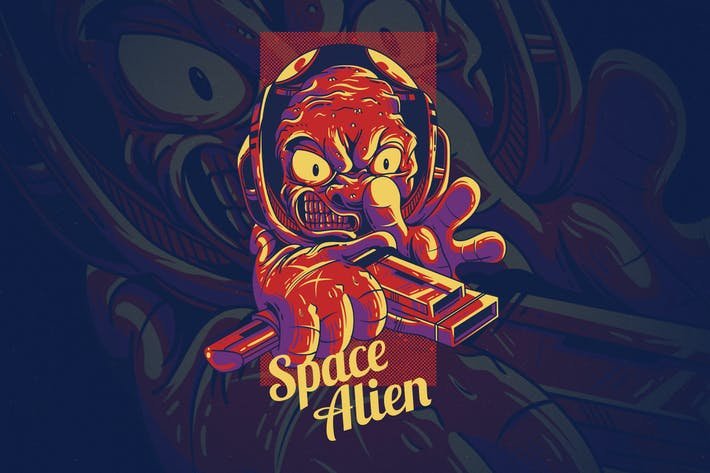 Thumbnail for Space Alien