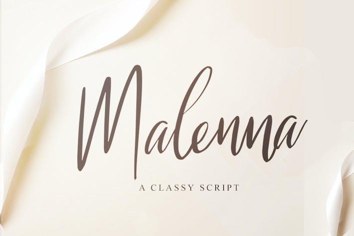 Thumbnail for Malenna Script