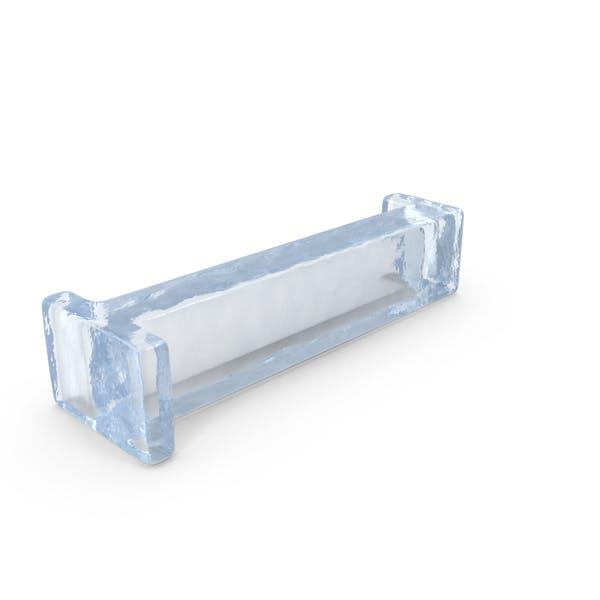 Ice Letter Lowercase I