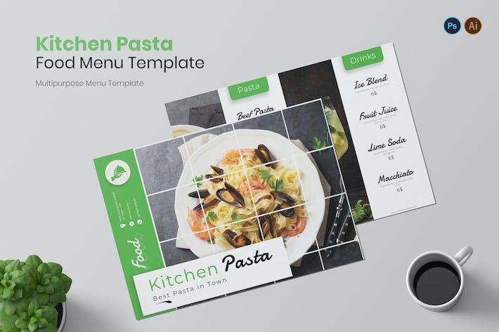 Kitchen Pasta Restaurant Menu