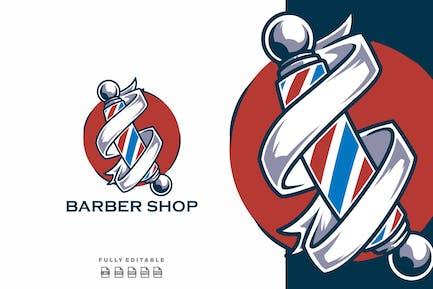 Barber Shop Classic Template Logo