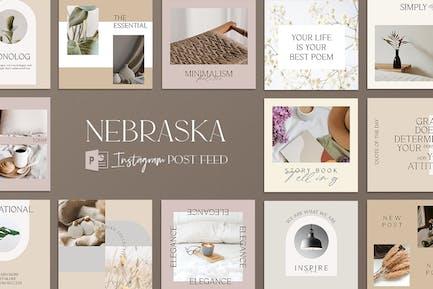 Nebraska Powerpoint Instagram Post Feed