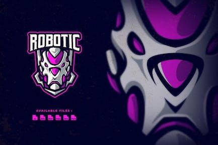 Robotic Sport and Esport Logo