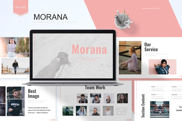 Thumbnail for Морана - Шаблон слайдов Google