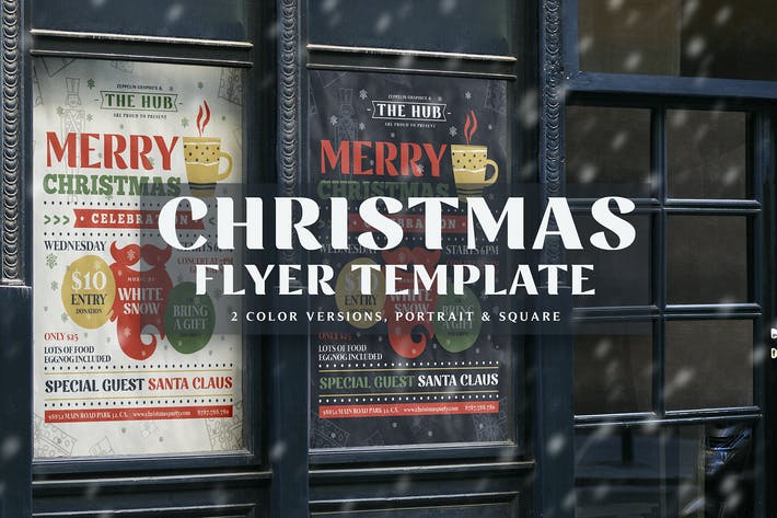 Thumbnail for Christmas Flyer Template Vol.1