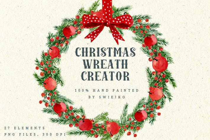 Thumbnail for Christmas Wreath Creator