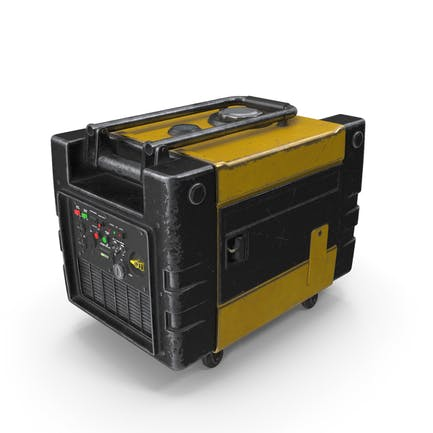 Tragbarer Generator Gelb Gebraucht