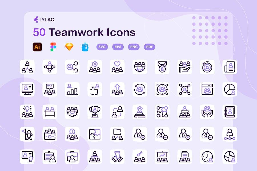Lylac - Teamwork-Ikonen