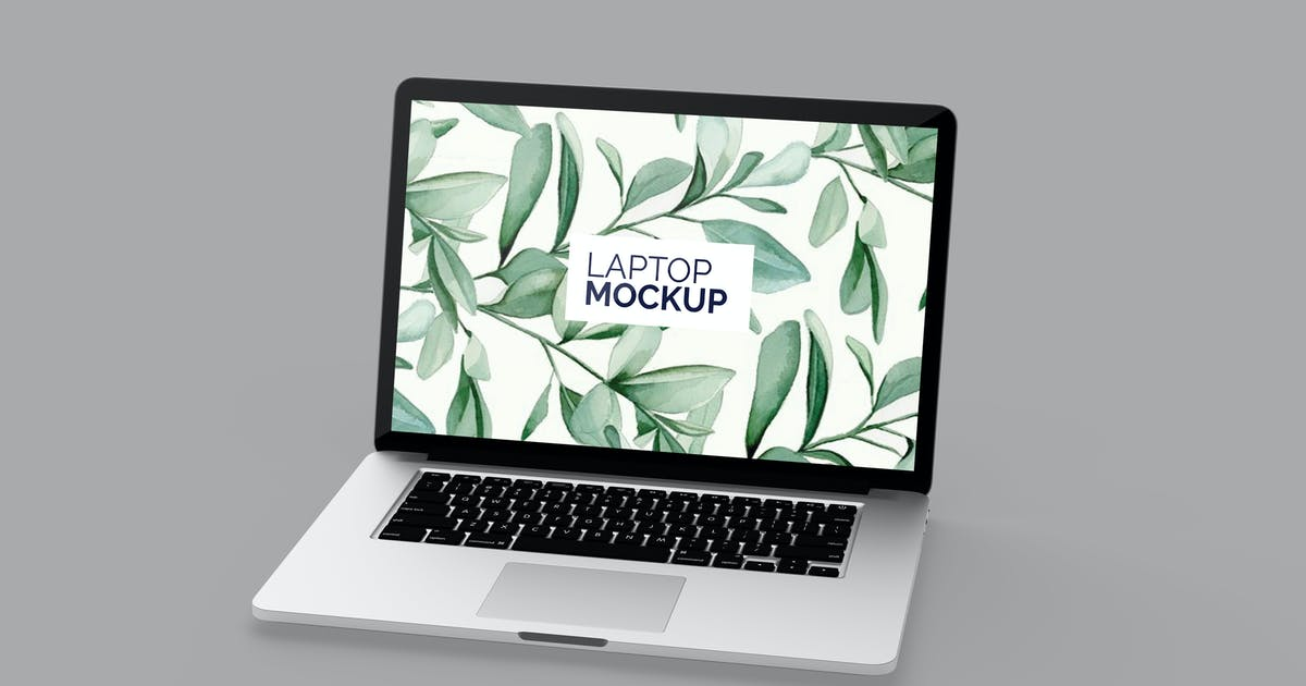 Download Laptop Mockup by IanMikraz