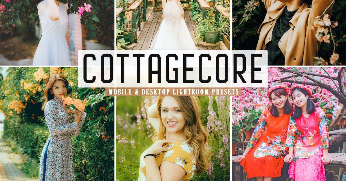Download Cottagecore Mobile & Desktop Lightroom Presets by creativetacos