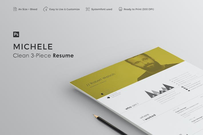 Thumbnail for Resume | Michele