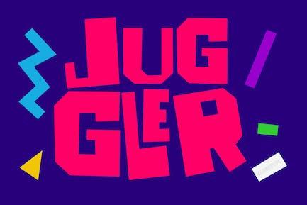 Juggler - Trendy Quirky Font